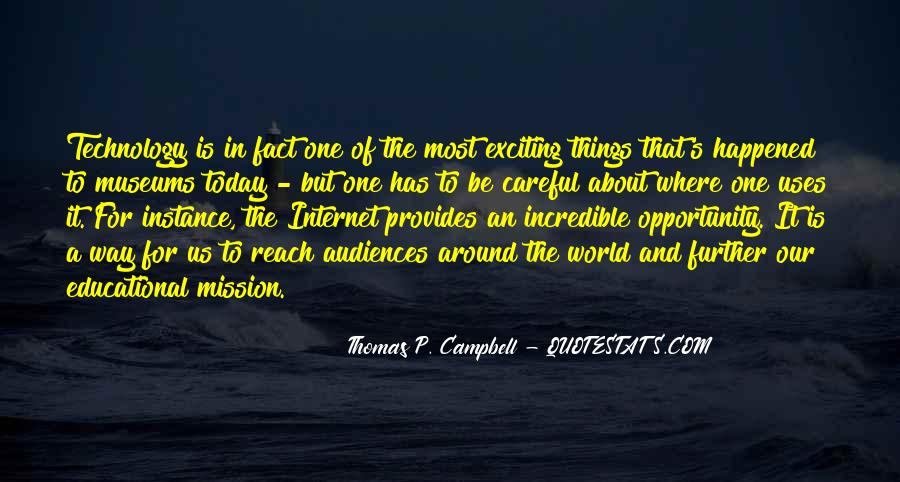 Campbell's Quotes #319519