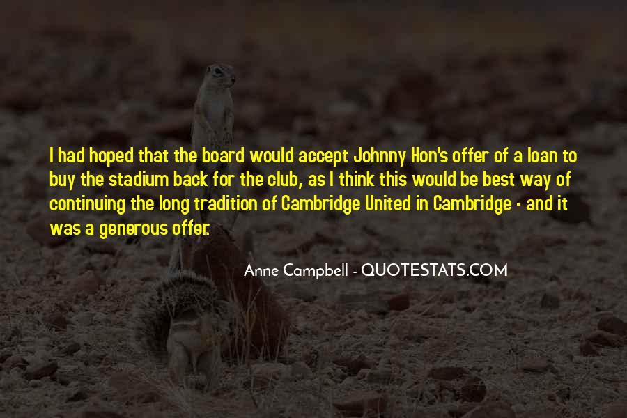 Campbell's Quotes #3483