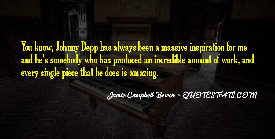 Campbell's Quotes #359535
