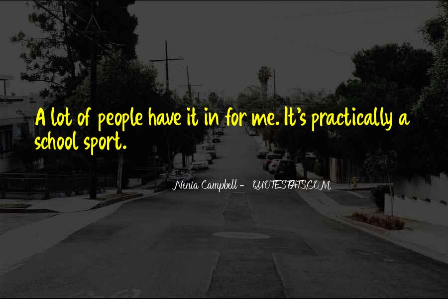 Campbell's Quotes #397549