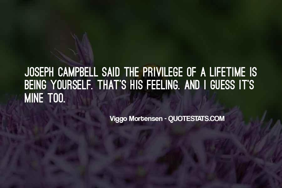 Campbell's Quotes #5930