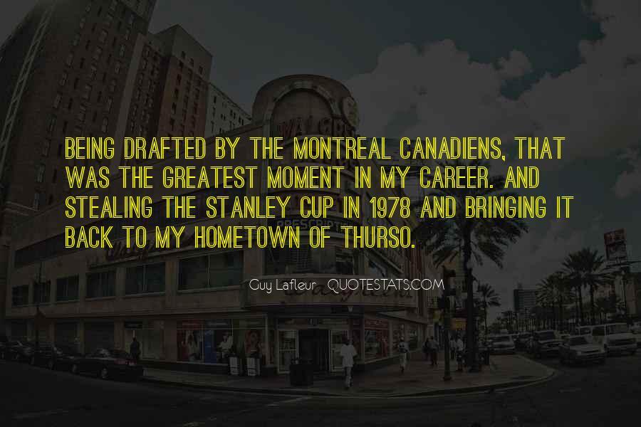 Canadiens Quotes #1228737