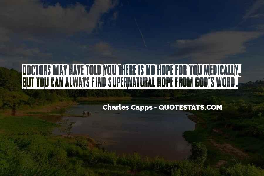 Capps Quotes #1457905