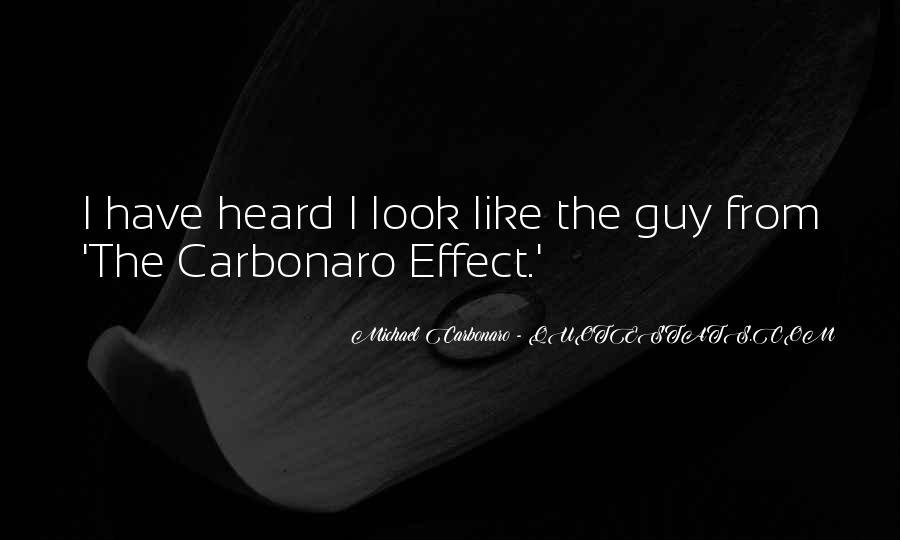 Carbonaro Quotes #319055