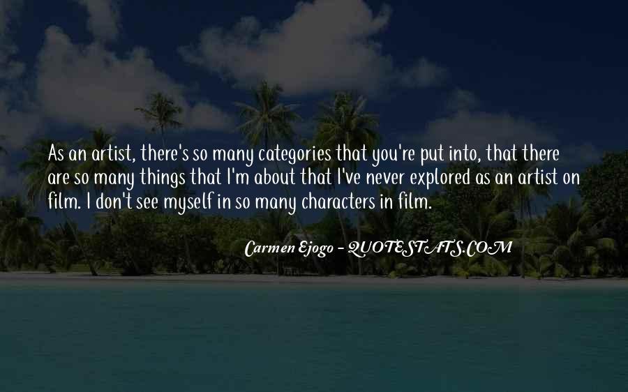 Carmen's Quotes #1360502
