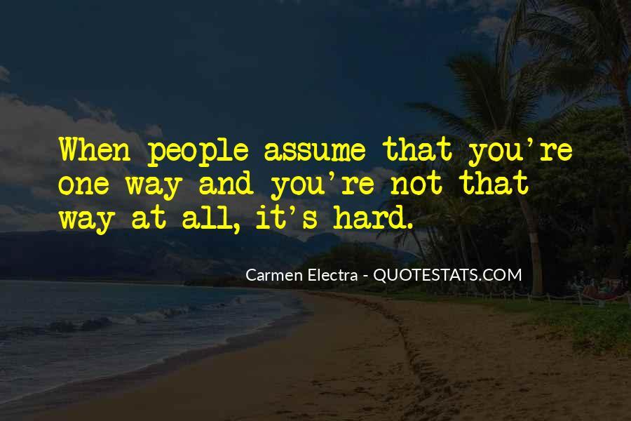 Carmen's Quotes #148983