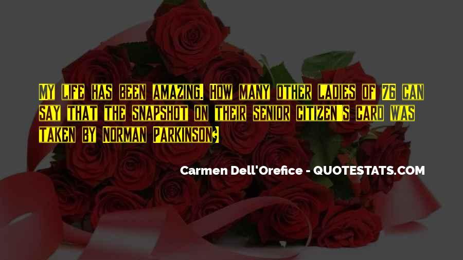 Carmen's Quotes #1493615