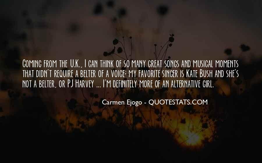 Carmen's Quotes #1666618