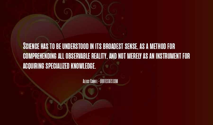 Carrel Quotes #931968
