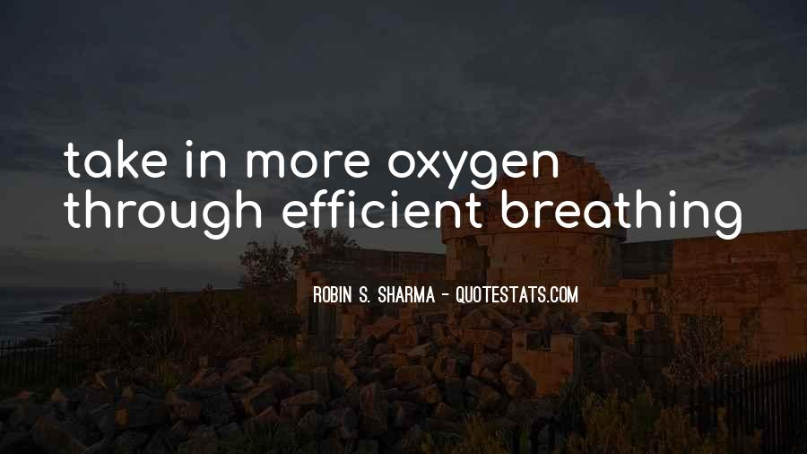 Quotes About Breathing In #123803
