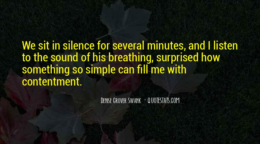 Quotes About Breathing In #137926