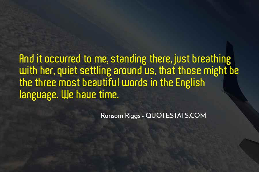 Quotes About Breathing In #14538