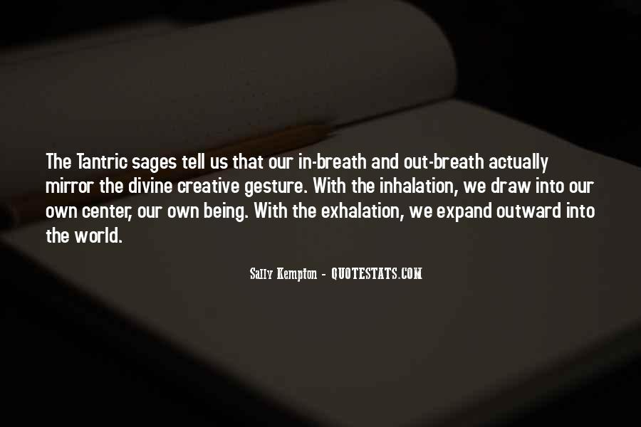 Quotes About Breathing In #190729