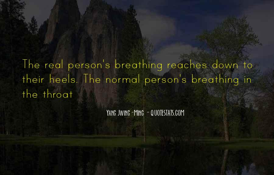 Quotes About Breathing In #200050