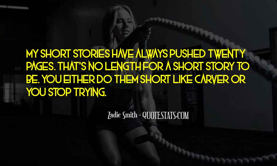 Carver's Quotes #149255