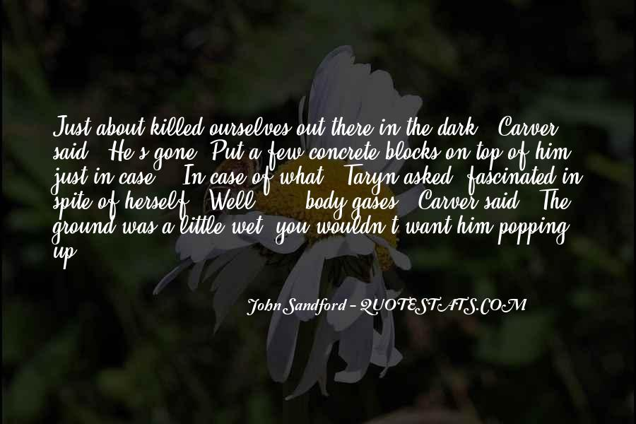 Carver's Quotes #1507548
