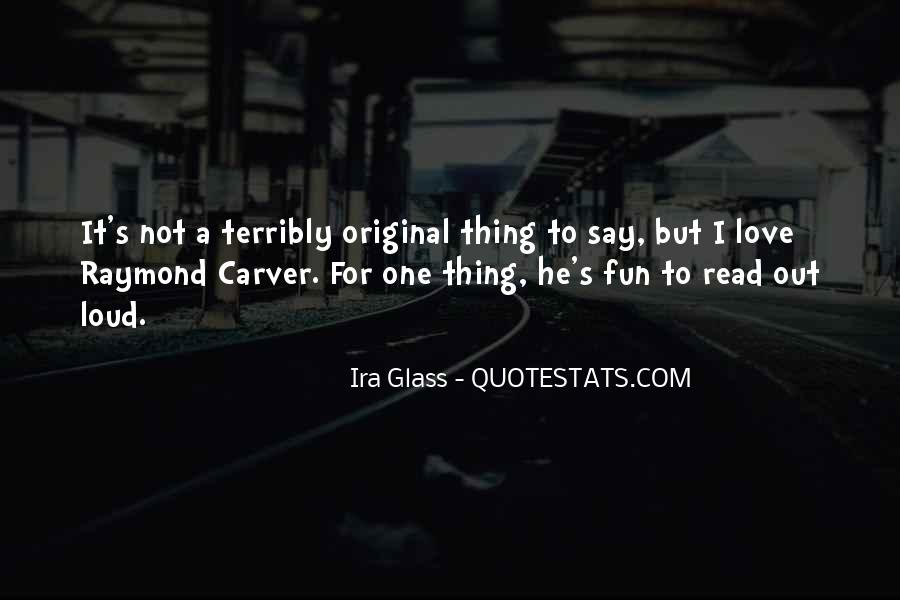 Carver's Quotes #1563516