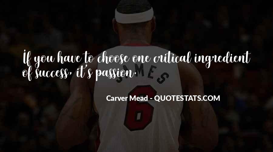 Carver's Quotes #1621194