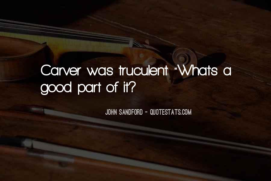 Carver's Quotes #1729818