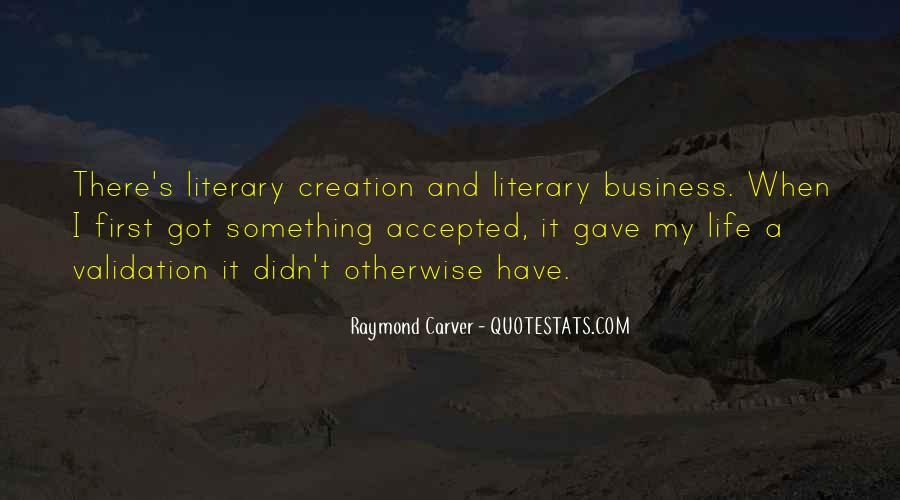 Carver's Quotes #1794313