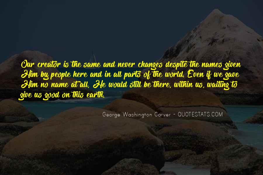 Carver's Quotes #184045