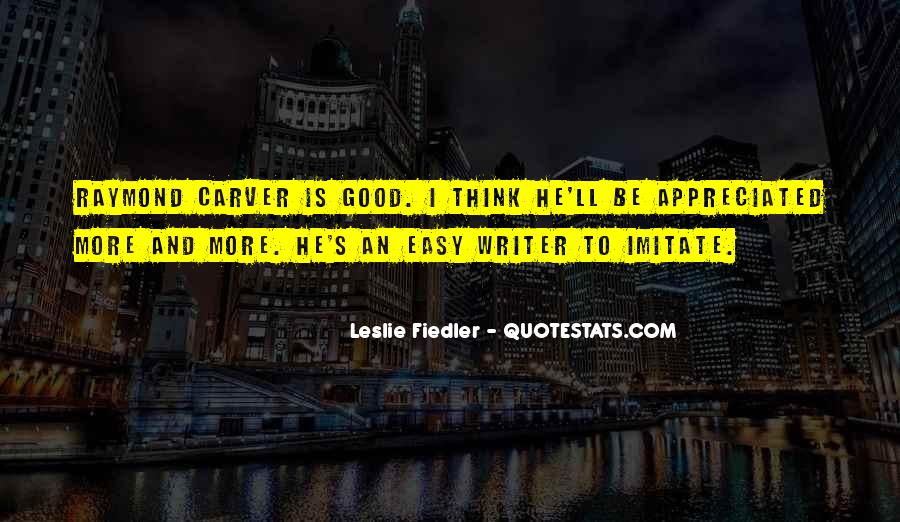 Carver's Quotes #234601