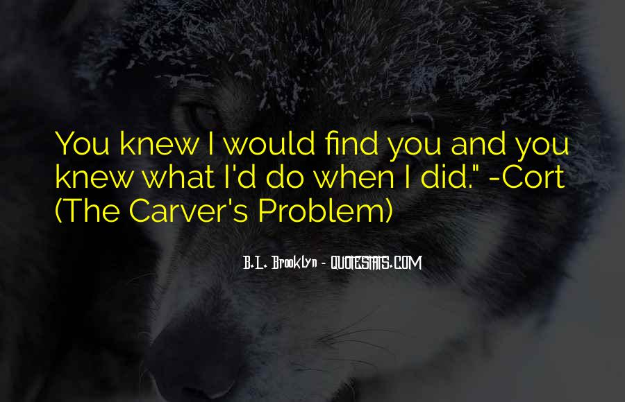 Carver's Quotes #261663