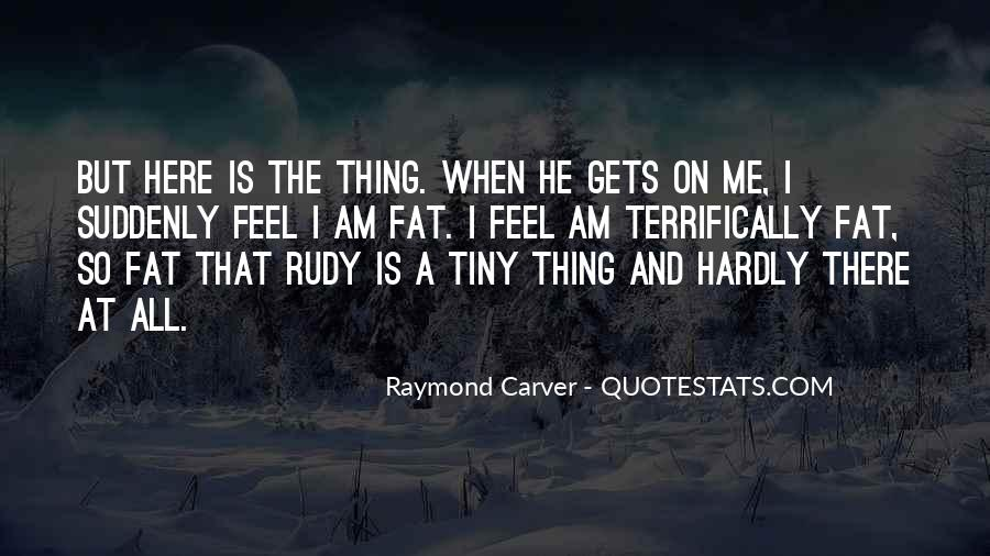 Carver's Quotes #281498