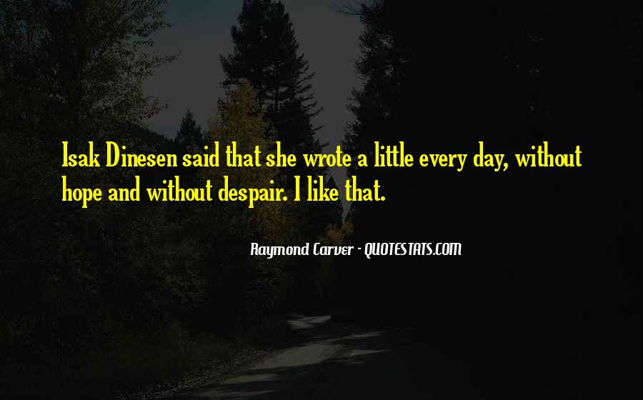 Carver's Quotes #332707