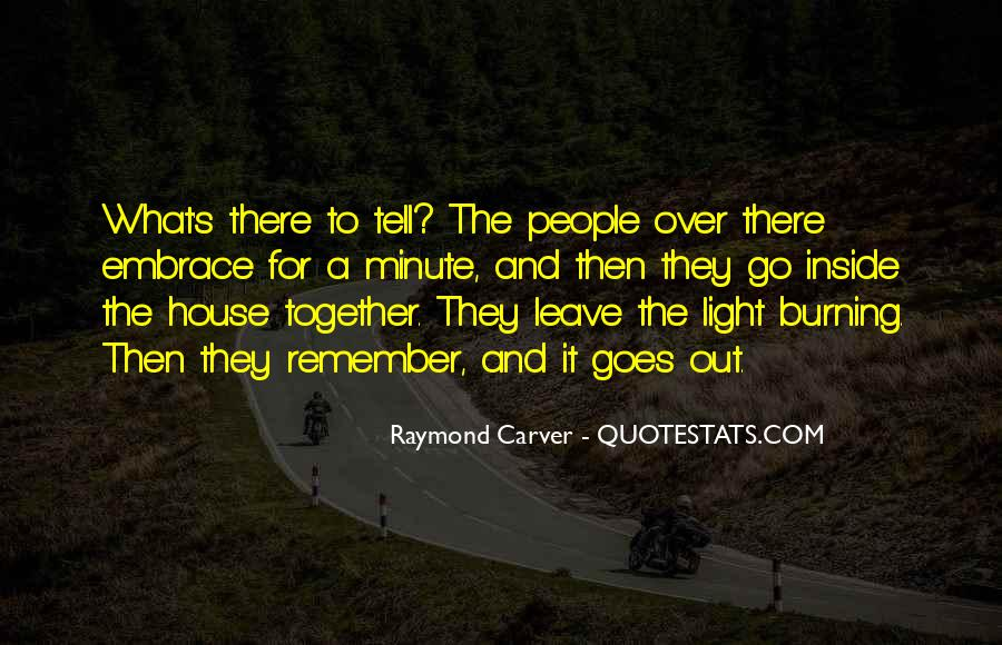 Carver's Quotes #344279