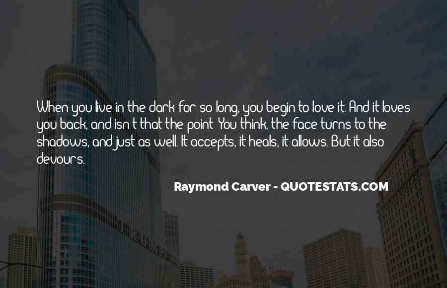 Carver's Quotes #351690