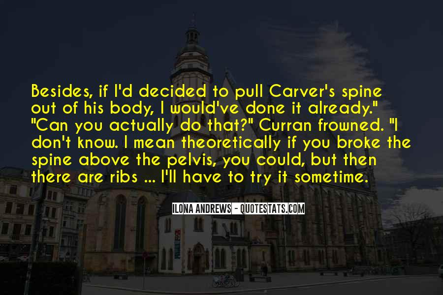 Carver's Quotes #362331