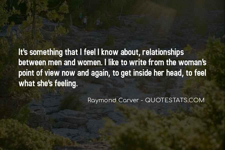 Carver's Quotes #423038