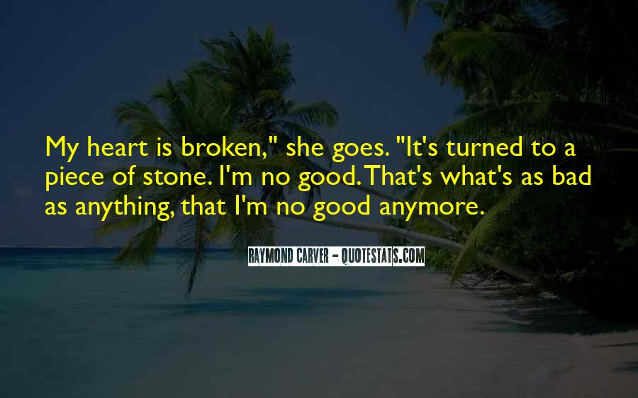 Carver's Quotes #4741