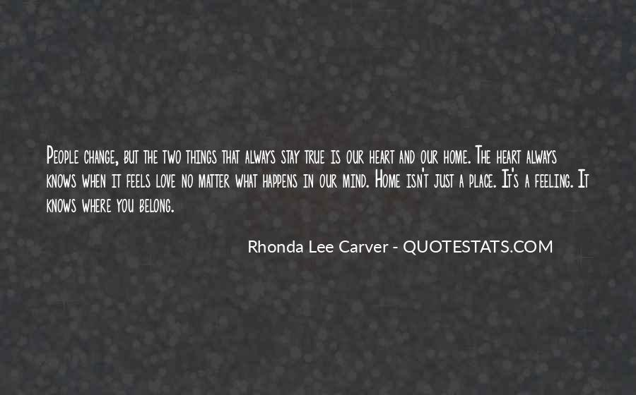 Carver's Quotes #986484