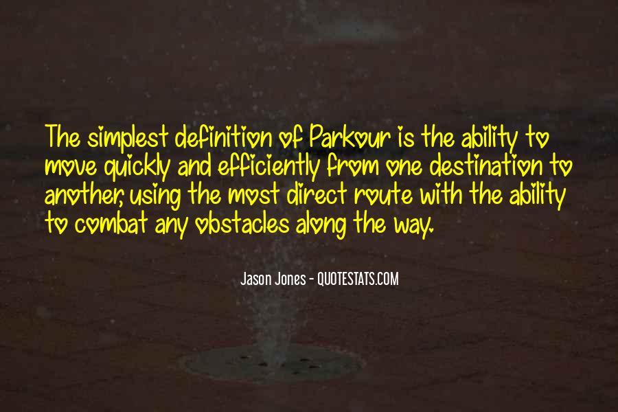 Quotes About Parkour #1532155