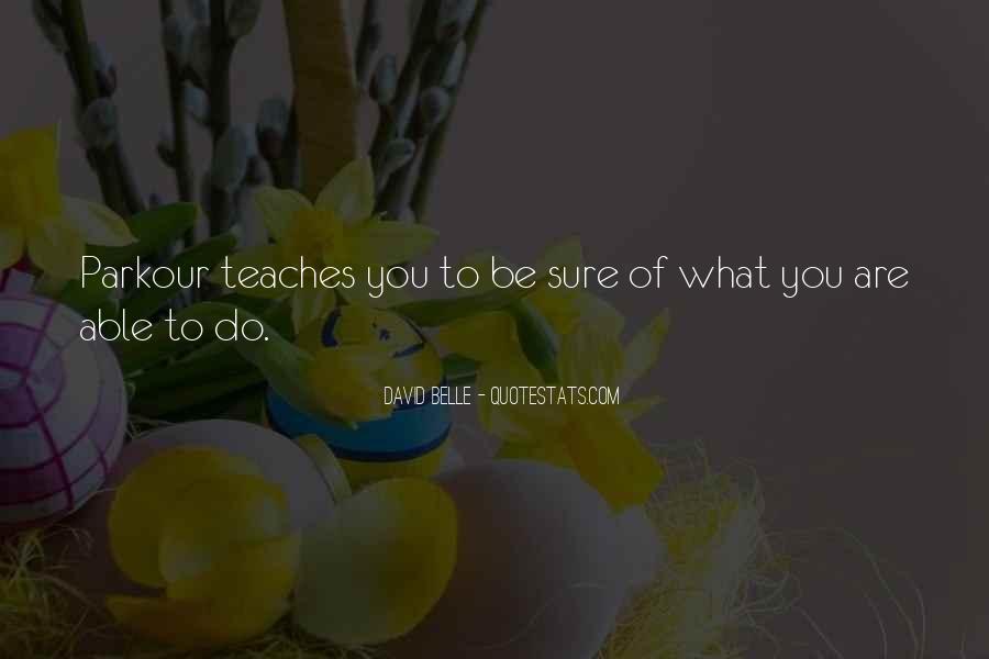 Quotes About Parkour #280604
