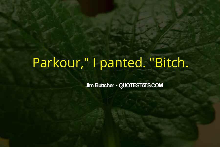 Quotes About Parkour #306245
