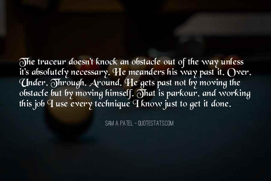 Quotes About Parkour #52510