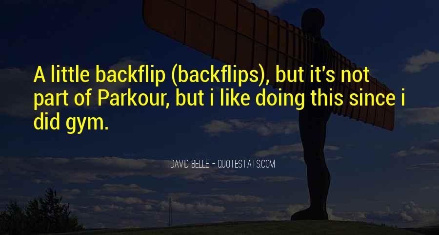 Quotes About Parkour #613843