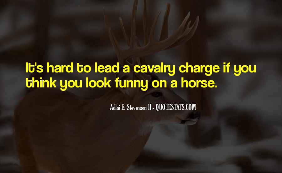 Cavalry's Quotes #1225490