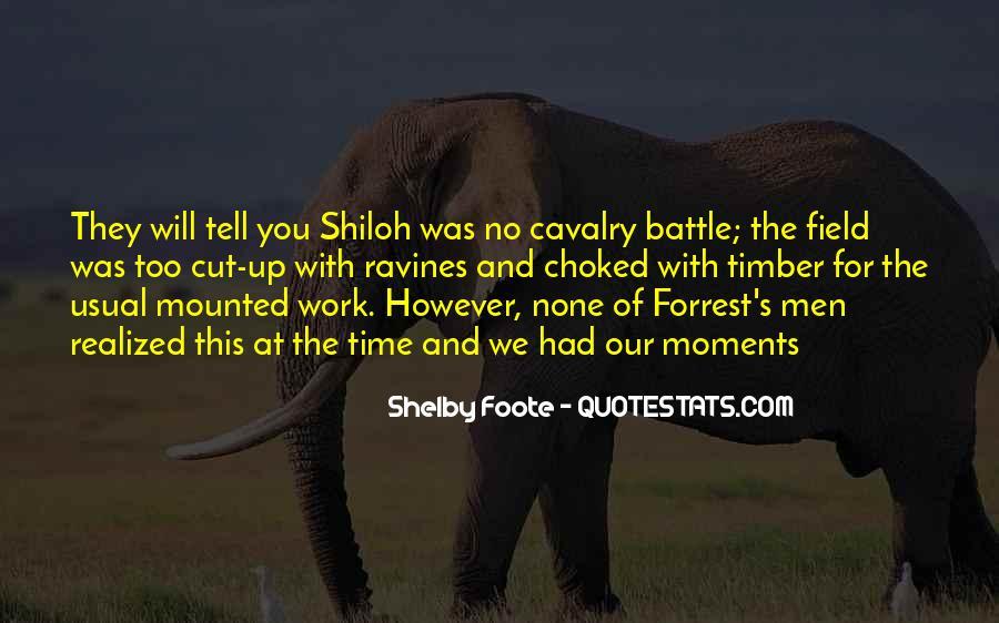 Cavalry's Quotes #123366