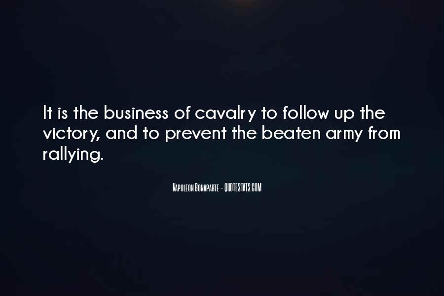 Cavalry's Quotes #1542953