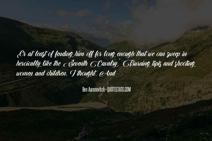 Cavalry's Quotes #1619681