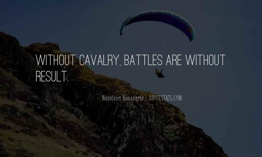 Cavalry's Quotes #22909