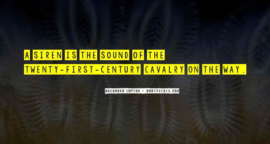 Cavalry's Quotes #355490