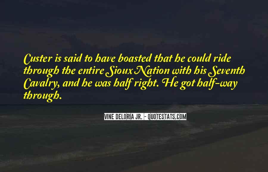 Cavalry's Quotes #741052
