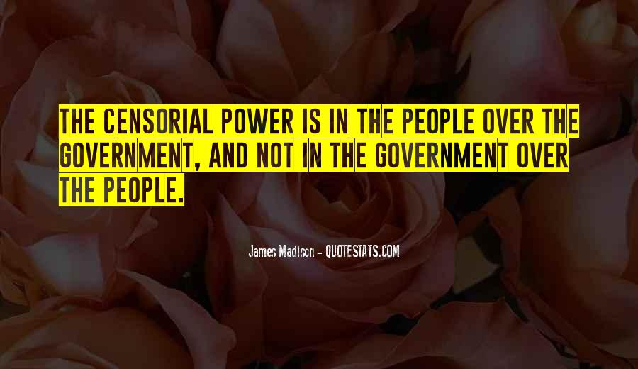 Censorial Quotes #350437