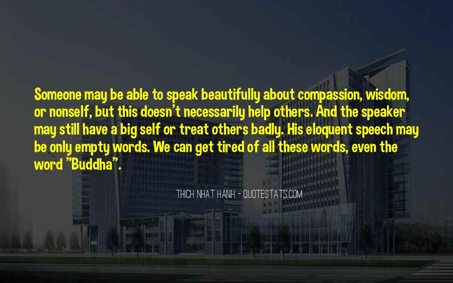 Quotes About Compassion Thich Nhat Hanh #1061882