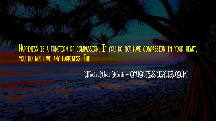 Quotes About Compassion Thich Nhat Hanh #128388